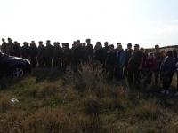 Казачьи военно-патриотические сборы (2 этап полевого выхода)