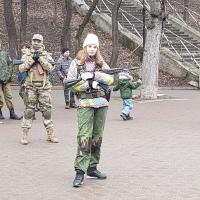 Курсанты Ессентукского казачьего военно патриотического клуба «Пернач», провели показательные выступления