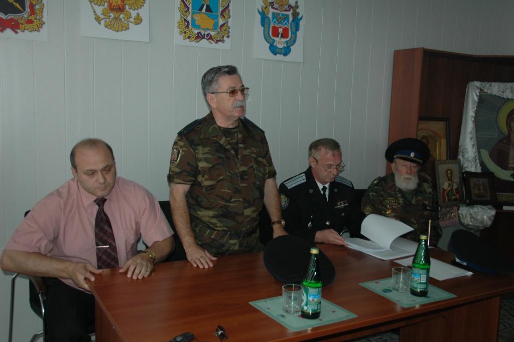 Б. Калинин, В. Бондарев, А. Фалько и А. Месечко