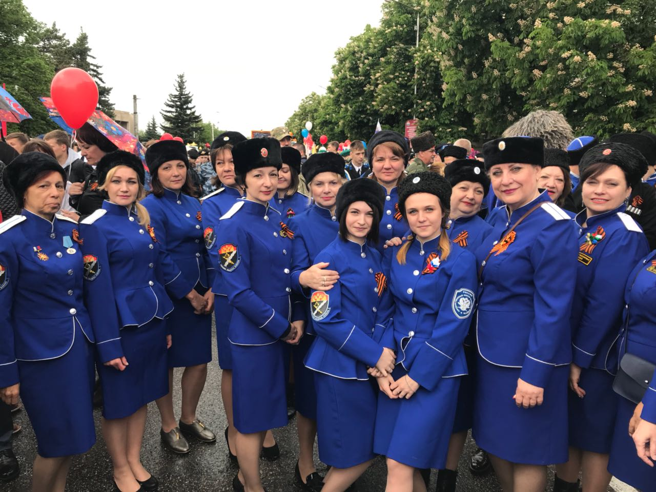 День Победы, парад 9 мая 2018